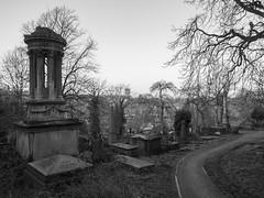 Photo of Sharrow Cemetary graves