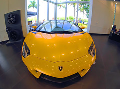 A Vent, A Door. (Infinity & Beyond Photography) Tags: lamborghini aventador exotic sportscar supercar car miami cars exotics supercars florida