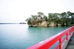 Matsushima (akituki**) Tags: japan miyagi sendai matsushima bridge sea green sky sightseeing landscape tree island red 宮城 仙台 松島 pine