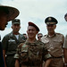 SOUTH VIETNAM. September 1963. Robert McNamara,  US Defense Secretary and General Maxwell Taylor.