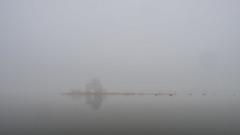 Klippan in Fog (monojussi) Tags: espoo april keilalahti klippan fog