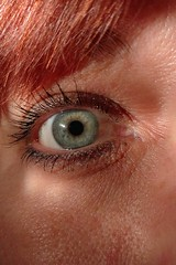 Day 18 of Year 8- my eye (Pahz) Tags: 365days selfportrait macro eye heterochromia lgg5 year8