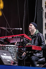 A55T1058 (Nick Kozub) Tags: francofolies ariane brunet outdoor show spectacle energy concert music 1dx canon ef 80200 f28 l montreal 2016 evening performance performer musician festival