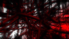 Blood Thorn Looping Animation (globalarchive) Tags: seamless electric pattern generated art dj thorn party world fractal mixture beautiful futuristic digital graphics computer energetic cool render effect artificial awesome dynamic hd amazing ultra concept abstract effects liquid looping virtual best cgi modern fantasy dream animation imagination animated geometric blood experiment loop design model creative power energy 3d