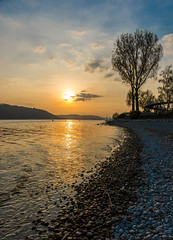 Sunset at Lake Constance (Bodensee)... [Sipplingen, Germany - 2017] (Jose Constantino Gallery) Tags: sunset lake constance bodensee sipplingen germany 2017 jose constantino lach nikon sky water beach obersee