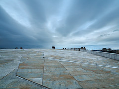 Oslo opera house roof (alf.branch) Tags: oslo norway clouds sky city archtecture alfbranch