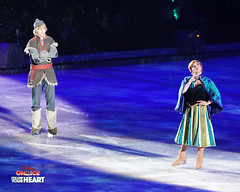 Princess Anna & Kristoff (DDB Photography) Tags: disney disneyonice ice waltdisney disneyphoto disneypictures disneycharacters followyourheart mickey mickeymouse minnie minniemouse mouse feldentertainment donaldduck duck goofy figure skate figureskate show iceshow prince princess princesses castle animation disneymovie movie animatedmovie fairytale story anna elsa elsathesnowqueen olaf kristoff sven hans princehans arendelle frozen loveisanopendoor letitgo