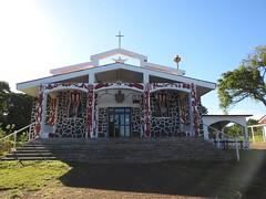 170314 Hanga Roa Church (BY Chu) Tags: chile easterisland hangaroa isladepascua parquenacionalrapanui rapanui