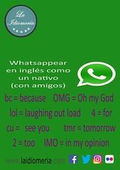 ¿Alguien los utiliza?  #laidiomeria #whatsapp #lol #bc #tmr #tomorrow #amigos #nativo #ingles #english #for #imo (laidiomeria) Tags: imo tomorrow tmr english nativo for ingles amigos laidiomeria bc lol whatsapp