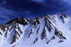 sancy by night (marvinlemuzz) Tags: sancy night nuit étoiles neige cloud bleu landscape paysage magie canon sky blanc white montagne mountain hauteur ascencion