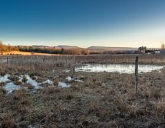 Road side view (Alberto Vanoli) Tags: agriculture manmade landscape winter season nature snowice fields farmsbarns sunsetsunrise map photo color hudsonvalley