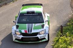 64° Rallye Sanremo (017) (Pier Romano) Tags: rally rallye sanremo 2017 64 auto cars gara race ps prova speciale provaspeciale campionato italiano liguria riviera ligure ginestro colle oggia skoda fabia r5
