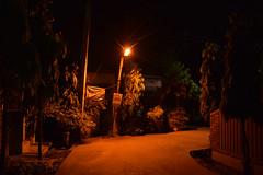 Empty Streets (Debatra) Tags: kolkata calcutta bengal easternindia india d3300 nikon nikkor 1855 1855mm orange street westbengal sodepur sodpur