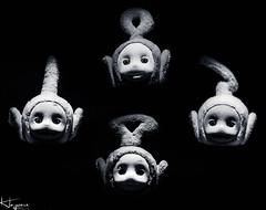 Tubby Rhapsody (Wayne Cappleman (Haywain Photography)) Tags: wayne cappleman haywain photography teletubbies monochrome tubby rhapsody queen