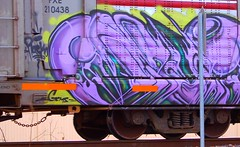 Funer (Chicago City Limits) Tags: freight train graffiti graff art trains artwork spray paint tag tagger tagging tagggers freights rail railroads rails railroad burner burners piece wildstyle wild style auto rack autorack autoracks racks holyroller holy roller rollers tracks locomotives locomotive norfolk southern funer
