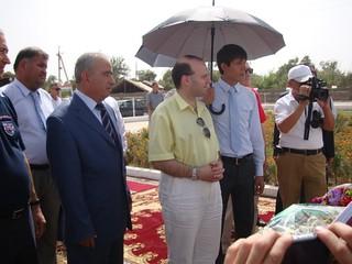 H.E. President Anton Caragea visiting Hissar Palace