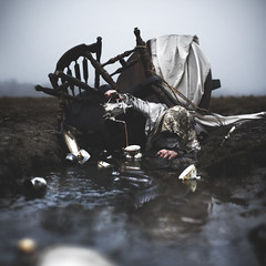 TETR_O (thewickedend - Nicolas Bruno) Tags: nicolasbruno art artwork sleep paralysis self portrait sleepparalysis selfportrait water beach swamp dark darkart teacup nightmares nightmare dreams 365 newyork