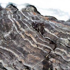 Lined (Danae Sheehan) Tags: rock antarctic colour pattern nature light detail square geology stripes sedimentary layers