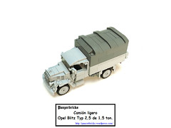 OpelBlitz15t-00 (Panzerbricks) Tags: panzer panzerbricks lego wehrmacht opelblitz1 5t lkw