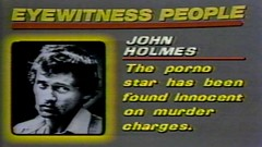 1982 - News - Eyewitness People - John Holmes Porn Star Innocent of Murder - WABC-TV7 New York (VideoArcheology) Tags: videoarcheology 1982 news eyewitness people john holmes porn star innocent murder wabctv7 new york