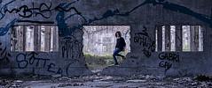 Who You Are (○gus○) Tags: nikond750 240700mm ƒ28 1125 potty decadente decay degrado abandoned abbandono industria industry urbex foundry fonderia graffiti 2391 ʂ anamorphic cinematiclook cinematography