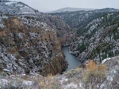 IMGP0039-Edit-stack-Edit (Matt_Burt) Tags: blackcanyon currecanti canyon gunnisonriver river sage snow spring squall storm