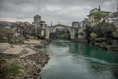 Stari Most Bridge (Felix Vila) Tags: starimostbridge mostar war river bosnia bridge unesco