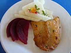 Pescado (knightbefore_99) Tags: pescado poisson fish fried decameron lunch hotel mexico mexican rincon guayabitos nayarit jicama beet tasty best awesome art