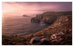 Longships (David Haughton) Tags: landsend cornwall longships lighthouse sunset evening april cliffs atlantic ocean sea seascape landscape fineart davidhaughton