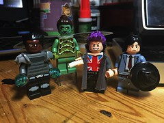 The Elite (LordAllo) Tags: lego dc the elite superman manchester black coldcast menagerie hat