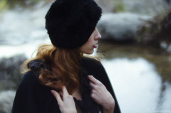 Racconto d'Inverno (Michela Riva Photography) Tags: carso daguerre editorial fashion lomography model mood naturallight nikon outdoor photography portrait primelens trieste vintage winter woman beautiful bokeh cinematic dark dream emotion emotional enchanted fairytale fineart forest girl italy magic moody nature photoshoot redhair redhead retro romantic story victorian wood