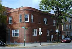 2500 West Iowa Street (Cragin Spring) Tags: city urban usa chicago building corner illinois midwest unitedstates chitown il chicagoillinois chicagoil windycity westtown
