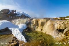 Hot waterfall