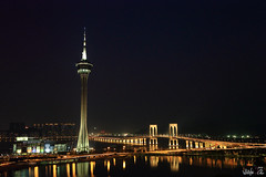 &-1 (Whitefox Chen) Tags: tower canon nightscape nd macau  6d   friendshipbridge  canon24105mm