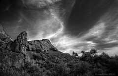 Ghost Riders (evanffitzer) Tags: sun hot clouds desert britishcolumbia sage kamloops sagebrush hoodoos canoneos60d evanffitzer evanfitzer