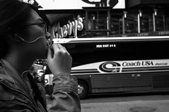 X100-04-09-13-224 (a.cadore) Tags: nyc newyorkcity blackandwhite bw candid midtown timessquare fujifilm x100 23mm fujifilmx100 23mm35mmequivalent
