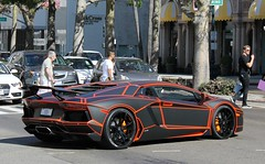 LB Performance Aventador LP700-4 (SPV Automotive) Tags: orange black sports car performance exotic tron lamborghini lb coupe supercar matte aventador lp7004