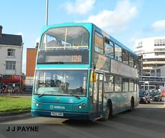 Arriva Midlands (4739) DAF ELC Lowlander - PN52 XRP (J.J.Pay 8581) Tags: uk england elc leicester 126 midlands lowlander daf arriva eastlancs mylennium pn52xrp