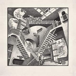 Escher - Relativitá