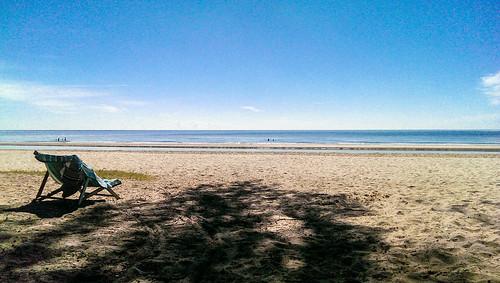 The beach near Hua Hin