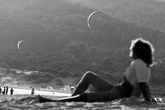 Valdevaqueros - Kite. (Jocape86) Tags: kite surf playa cadiz tarifa cometa valdevaqueros jocape