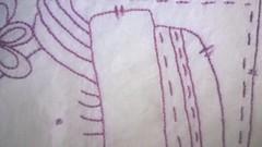 Tecido bordado avulso (Artices da Zappa - Artesanatos feitos com Amor.) Tags: da ponto almofada vov tecido bordado colcha bonequinha atrs unicolor avulso