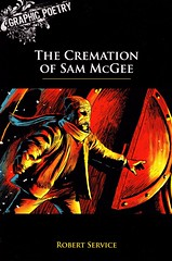 The Cremation of Sam McGee (Vernon Barford School Library) Tags: new school canada robert reading book high poetry sam graphic library libraries w mcgee reads books william canadian read paperback yukon cover poet junior service covers bookcover middle vernon canadians pioneer biography recent frontier narrative bookcovers francesco nonfiction paperbacks territory cremation francavilla barford biographical softcover biographic graphicpoetry vernonbarford pioneerlife softcovers frontierlife graphicnonfiction 9781554487257