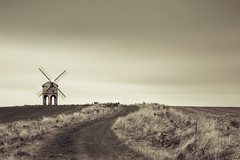 Chesterton Windmill (Jigsaw-Photography-UK) Tags: windmill sepia skies path smooth lee nd leamington chesterton spajpproductionsukgrass