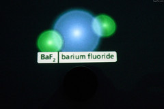 """BaF2 molecule (used in infrared sensors) • <a style=""""font-size:0.8em;"""" href=""""http://www.flickr.com/photos/34843984@N07/15360794907/"""" target=""""_blank"""">View on Flickr</a>"""