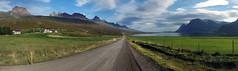 highway nr 1 p6 (Bilderschreiber) Tags: road panorama circle island iceland highway strase hringvegur sudurmulasysla bulandstindur berufjorour