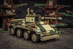 COBI German Puma (2446) (Adam Purves (S3ISOR)) Tags: tank lego tiger wwii worldwarii armor vehicle puma panther armour cobi halftrack t34 katyusha bm13n
