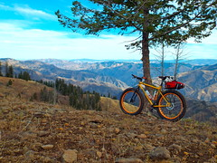 Hat Point to Lord Flat Ride (Doug Goodenough) Tags: bicycle bide ride hells canyon oregon october oct 2014 14 pedals spokes surly pugsley fatbike gravel mountains canyons imnaha drg53114 drg53114p drg53114phatpoint drg531ppugsley drg531