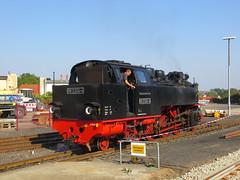 2014-091846 (bubbahop) Tags: train germany railway steam locomotive narrowgauge mecklenburg molli 2014 baddoberan 9923244 europetrip31