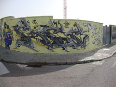 "Homenaje a Bece. ""el Pyke"" ABDT (Er Pike De ABDT) Tags: graffiti model pastel crew spaceship pike spacecraft pyke modelpastel abdt abasedetaker abdtcrew elpike elpyke wildpastel"